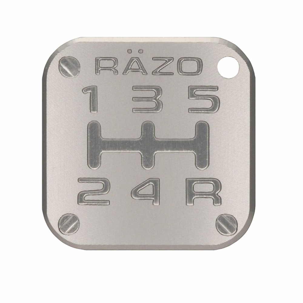 RAZO pattern badge