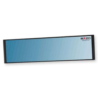 REAR VIEW MIRROR 270MM BLUE